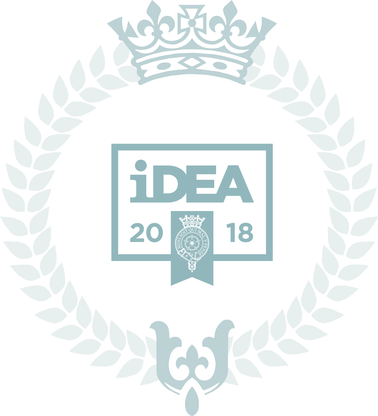 The Duke of York Inspiring Digital Enterprise Award (iDEA) Silver Award wreath logo 2018