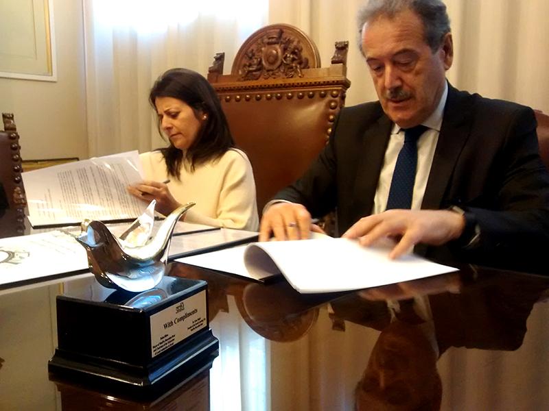Firma del protocollo di collaborazione Israele - Anci Friuli Venezia Giulia