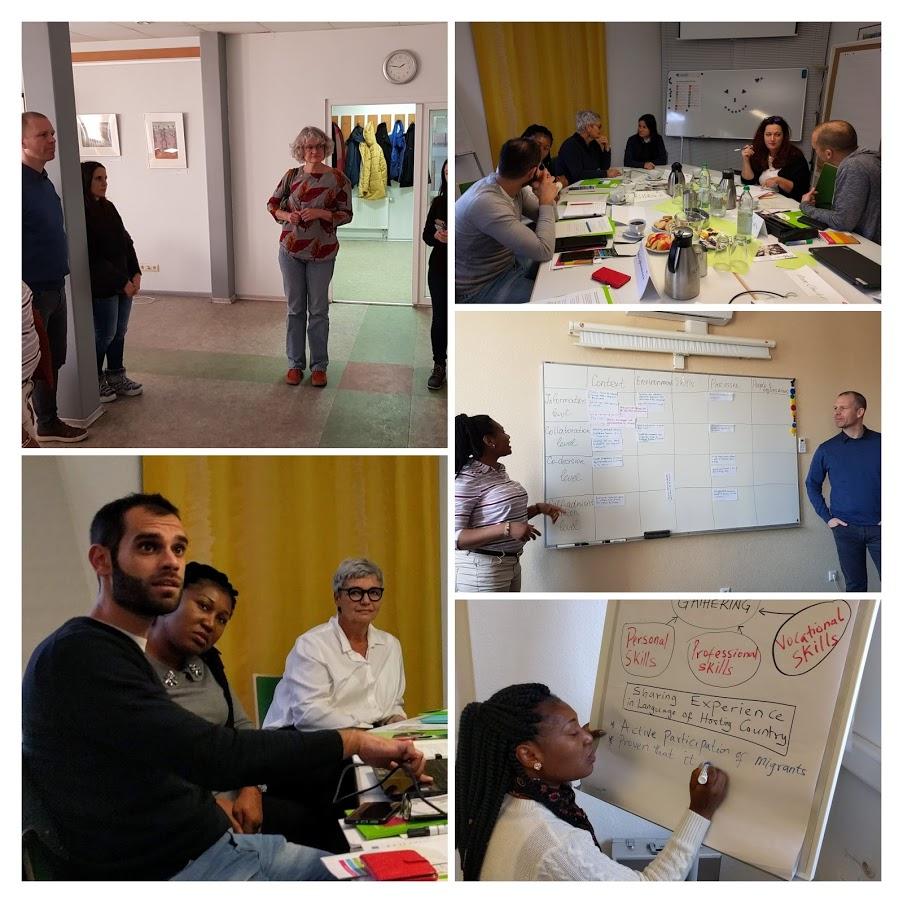 Kollage der Teilnehmenden am Projekt PRISMA - Aktive Partizipation von Migrant*innen