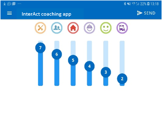 InterAct coaching student view