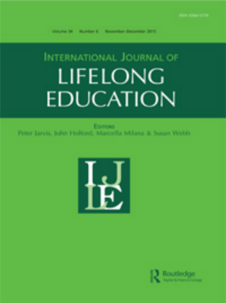 A cover image of the International Journal of Lifelong Education