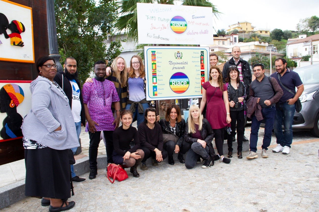 "A photo of Kairos Europe staff who participated in the Erasmus+ funded project ""Southern European migrant delemmas: better integration methods""."