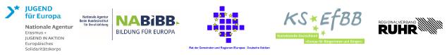 Kommunen sagen Ja zu Europa Logos