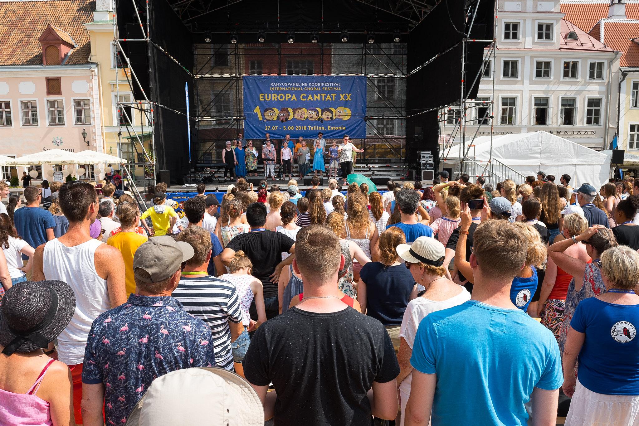 Festival Europa Cantat Talin 2018