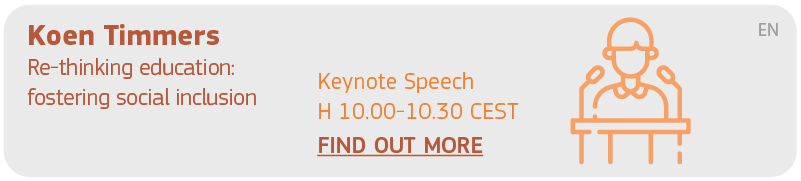 Koen Timmers Keynote Speech H 10.00 - 10.30