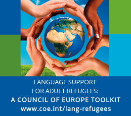 Language support for adult refugees