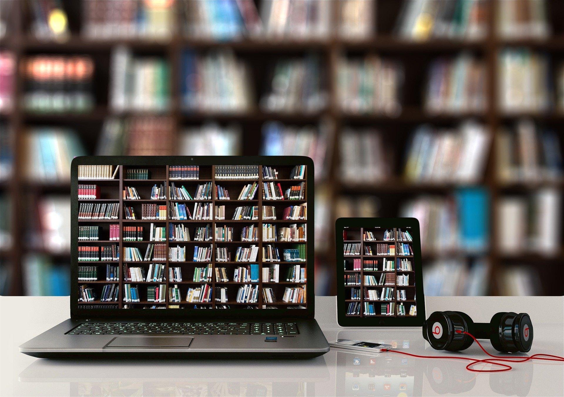 Bibliothek - analog und digital