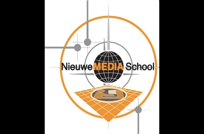 logo nieuwe media school