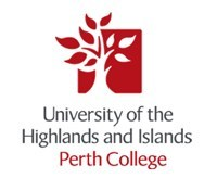 Perth College University of the Highlands and Islands logo