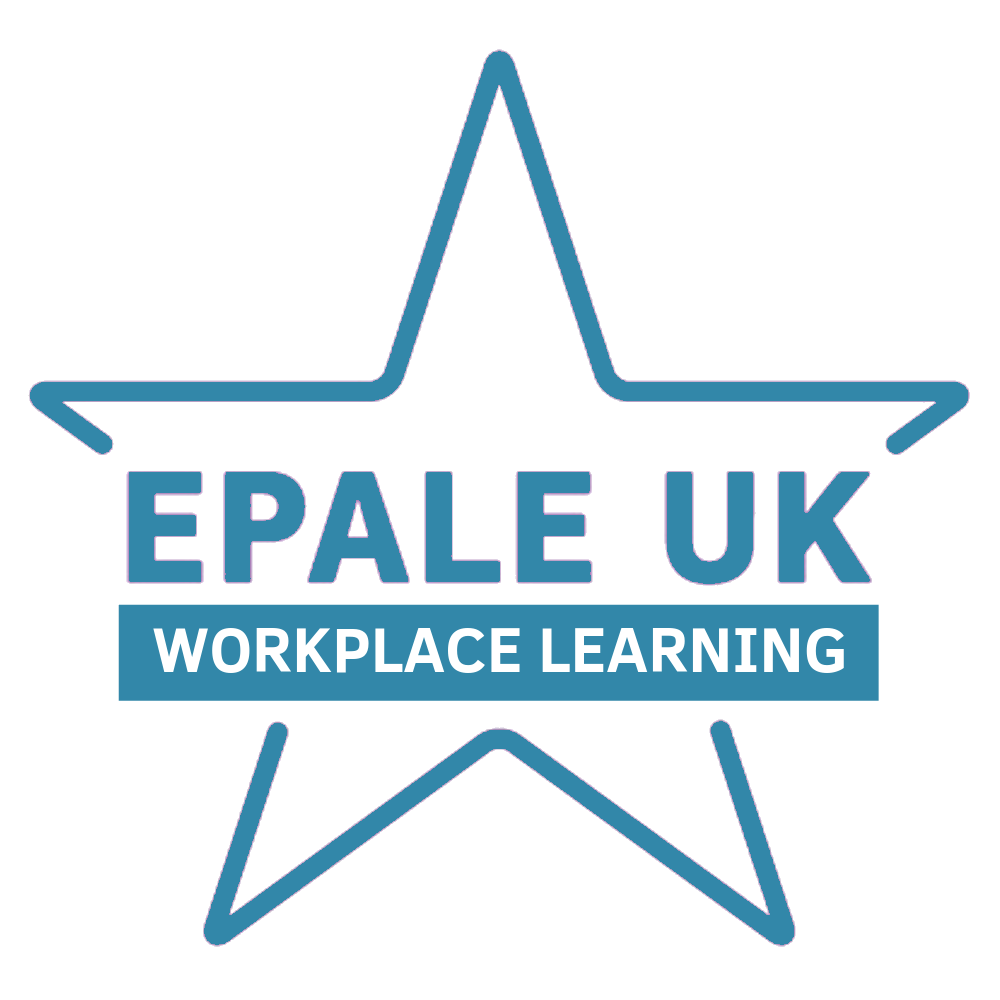 EPALE UK Star Supporter Competition Workplace Learning logo
