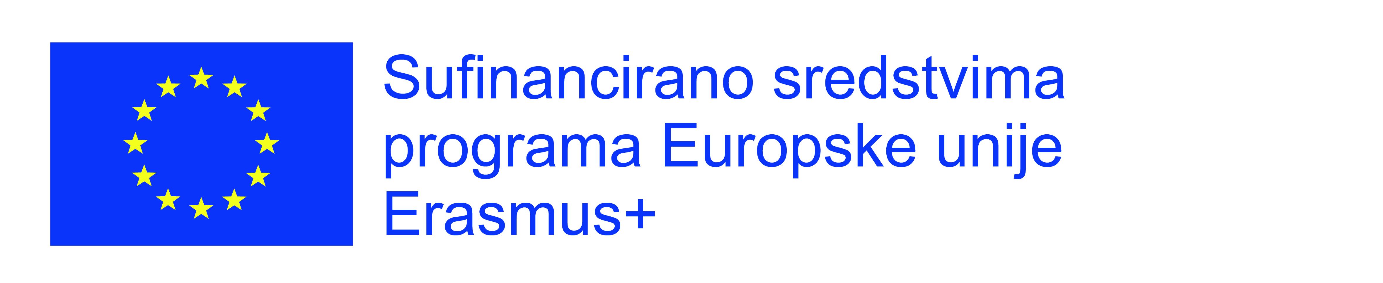 Sufinancirano sredstvima programa Europske Unije Erasmus+