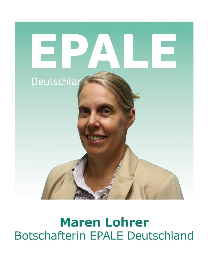 Maren Lohrer (© EPALE Deutschland)