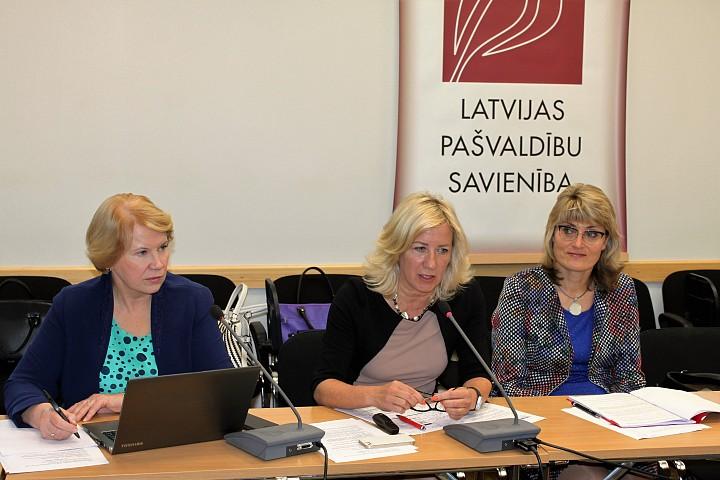 Latvijas Pašvaldību savienības Izglītības un kultūras komitejas sēde