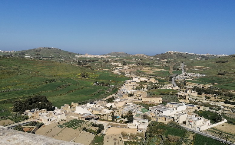 A view from Citadella Victoria Gozo