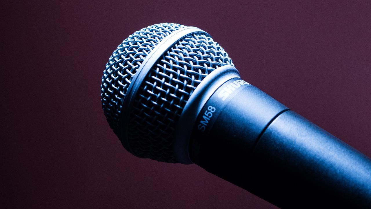 microphone (c) Pixabay License
