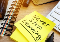Never stop learning note