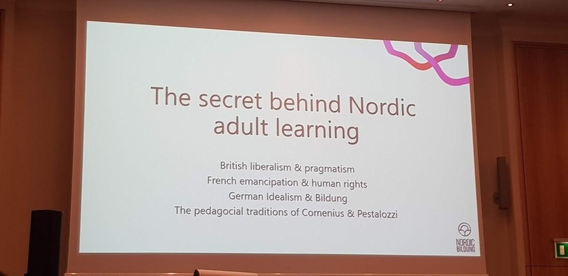 Nordic learning presentation slide