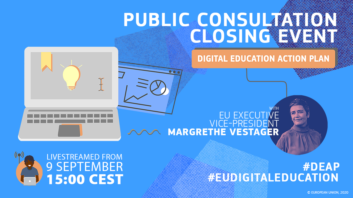 New Digital Education Action Plan: public consultation official closing event