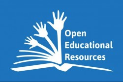 Das Symbol für frei zugängliche digitale Lernmaterialien: aufgeschlagenes Buch, aus dem sich Arme emporrecken
