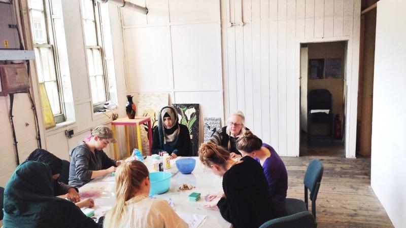 Ort Gallery workshop Famina B