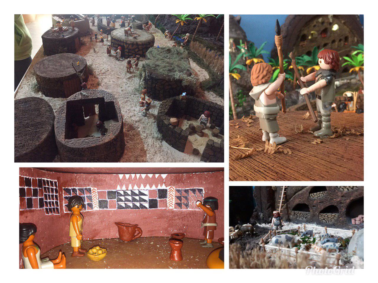 """Diorama """"El poblado de Ancor"""""""