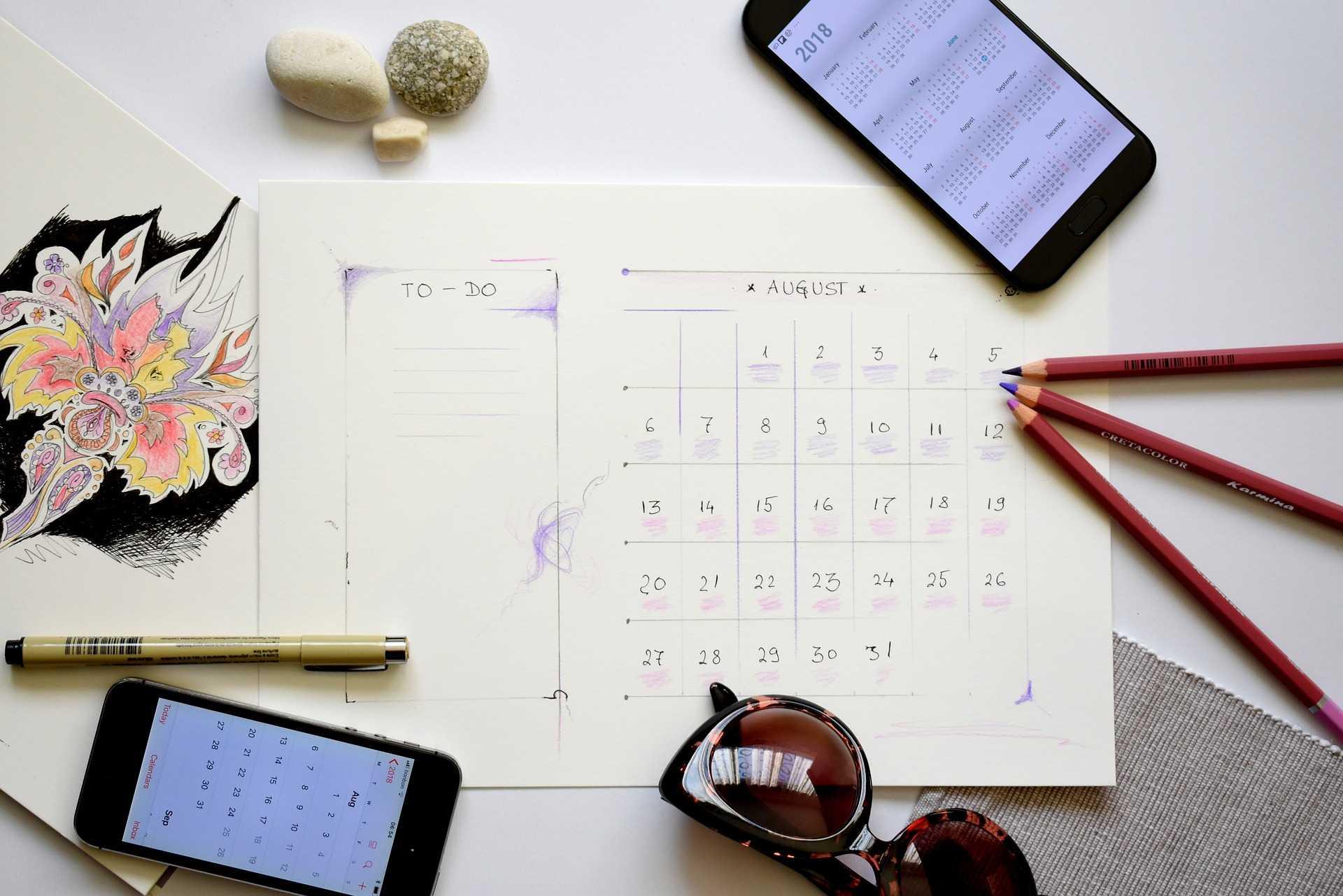 planowanie kalendarz