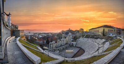 Amphitheatre at Plovdiv in Bulgaria