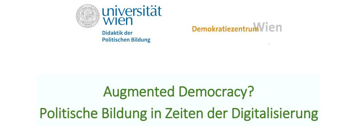 Politische Bildung in Zeiten der Digitalisierung (c) Uni Wien/Demokratiezentrum Wien