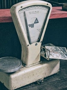 Old weighing scales, taken by Luka Siemionov