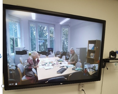 The video conferencing facility