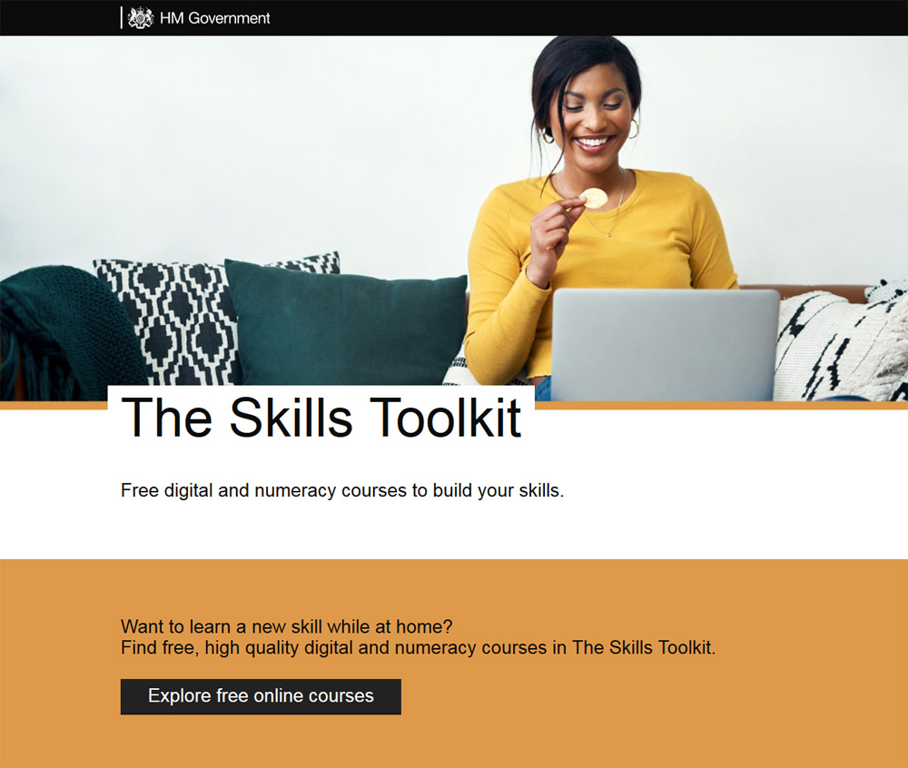 The Skills Toolkit: Free digital and numeracy courses to build your skills.