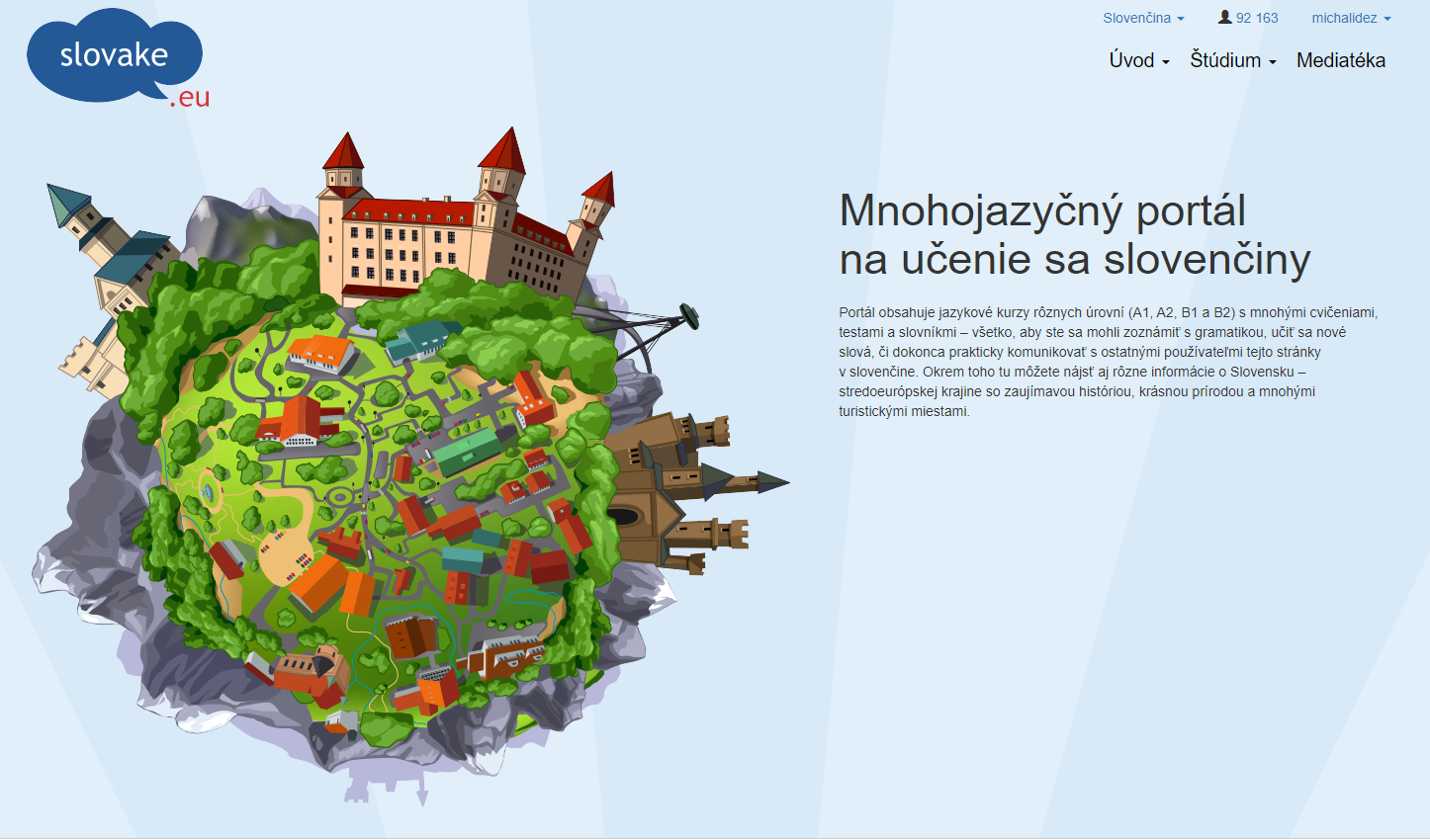 slovake.eu - web