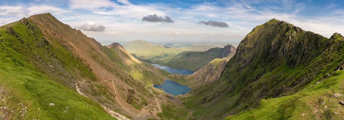 Snowdonia in Wales
