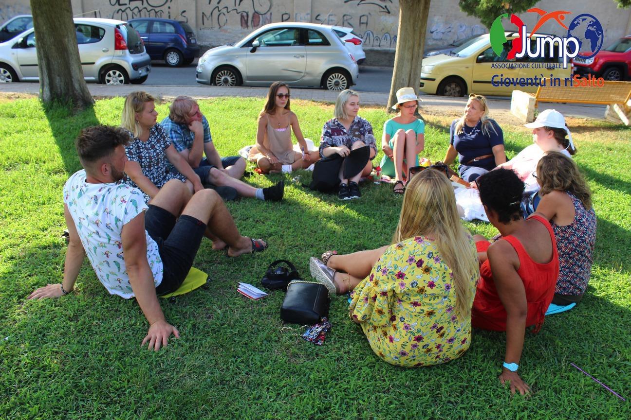 Plenerowe zajęcia szkolenia we Włoszech
