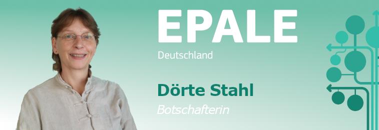 EPALE Botschafterin Dörte Stahl