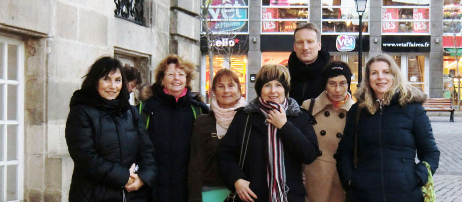 Team des Projekts Voices in pictures in Le Puy en Valey