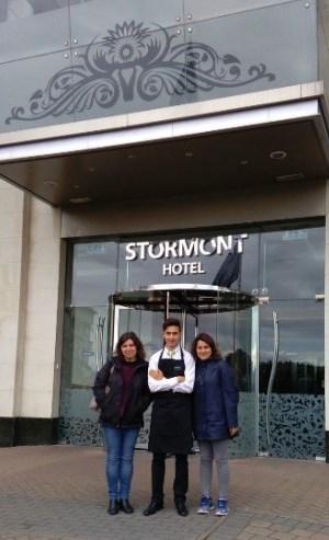 stormont hotel students