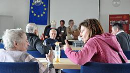 Beim Wissensforum in Freising wurde viel über Europa diskutiert.