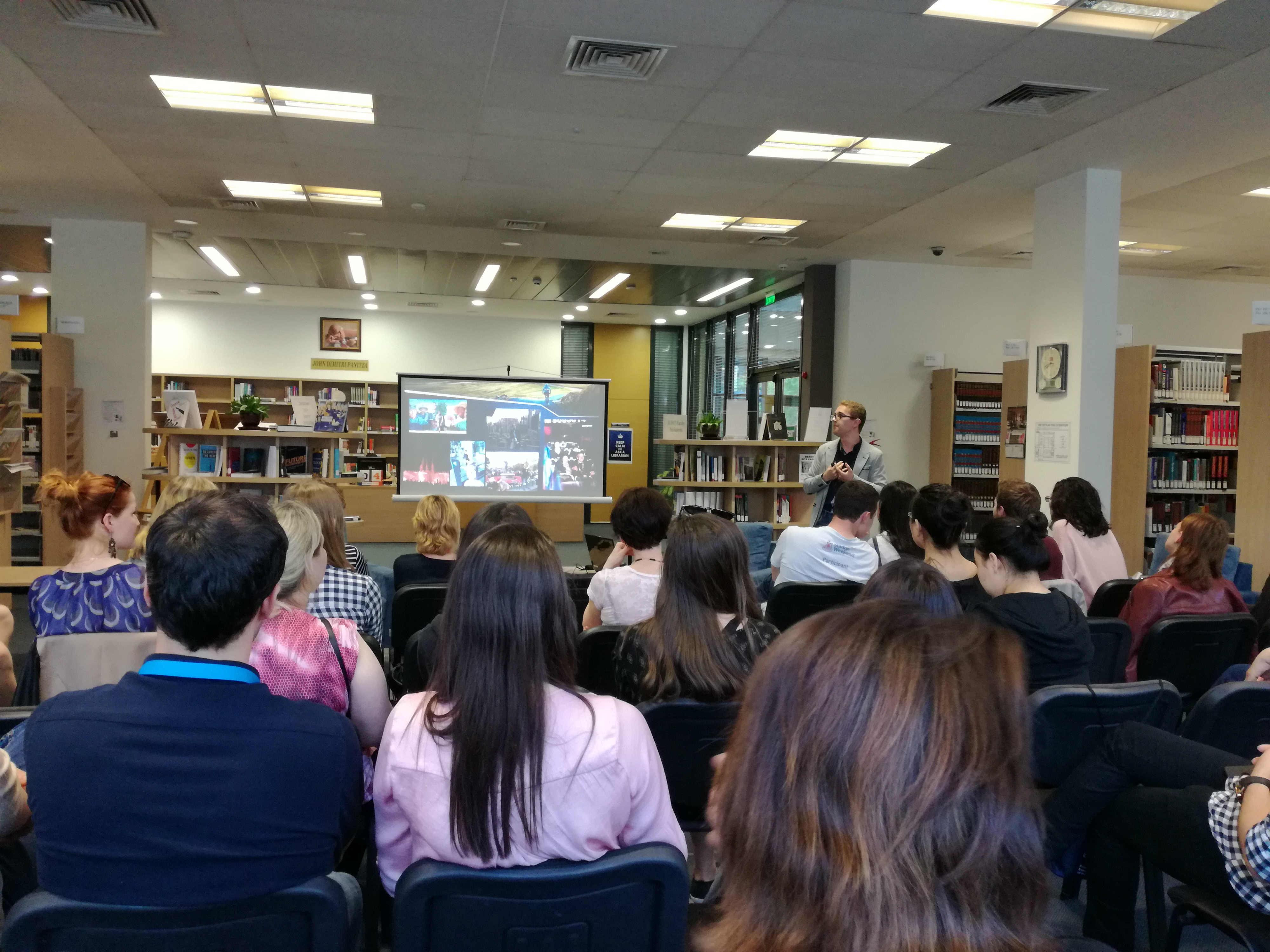Predstavitev Erasmus doživetij študentov