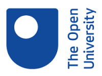 The Open University's logo.