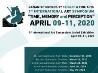 1ST INTERNATIONAL ART SYMPOSIUM: TIME, MEMORY AND PERCEPTION