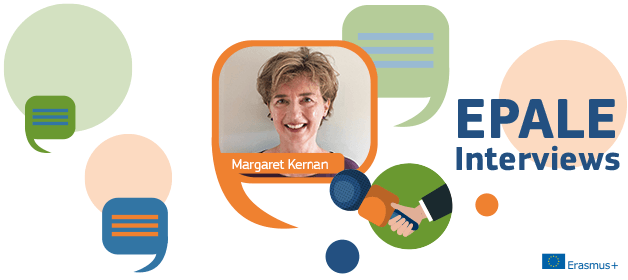 EPALE Interviews: Intergenerational learning in times of isolation - Margaret Kernan