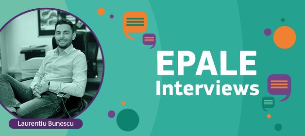 EPALE interview Laurentiu