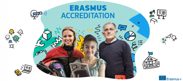 Erasmus accreditation: new brochure out now!
