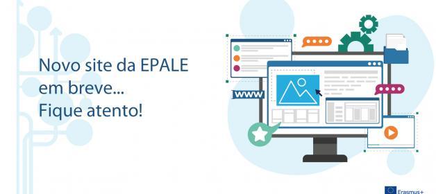 Novo site da EPALE em breve: Fique atento!