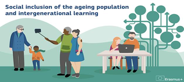 Inclusão social da população em envelhecimento e aprendizagem intergeracional