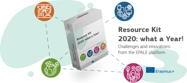 EPALE Resource kit 2020: what a Year!