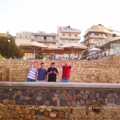 Erasmus+ Mobilität Reise nach Kreta, Rundflug