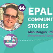 EPALE Community Story Alan Morgan