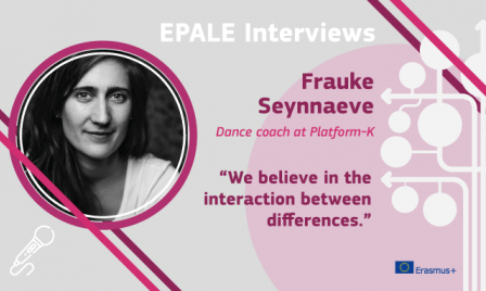 EPALE Interview: Frauke Seynnaeve